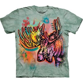 T-shirt Colourful Elk