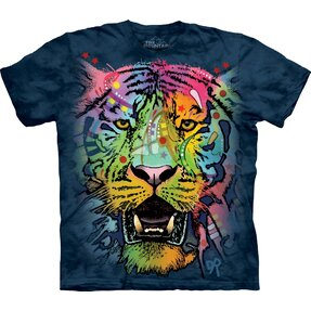 T-Shirt Farbiger Tiger