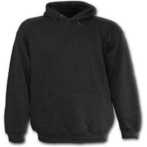 Fekete Kapucnis pulóver