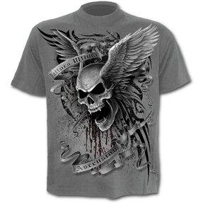 T-Shirt Graue Flügel