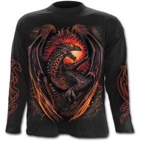 Langärmliges T-Shirt Drachenwächter