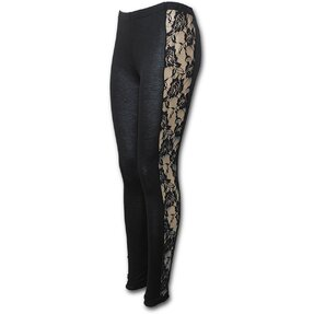Damen Leggings Rosen