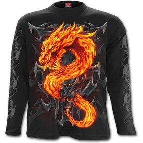 Dlhý rukáv Žiarivý drak