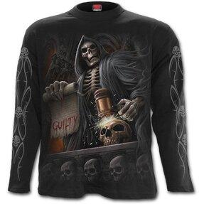 Langärmliges T-Shirt Dunkler Richter