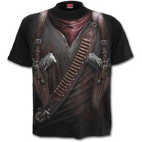Fegyverek a tokban póló