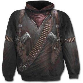 Kapucnis pulóver Fegyverek a tokban