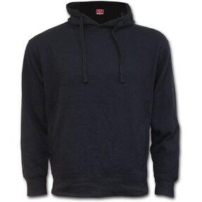 Női kapucnis pulóver Fekete