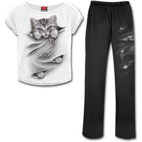 Ladies' Pyjama Set Cat's Claws