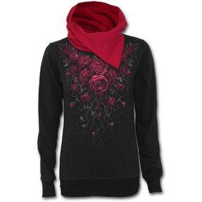 Női pulóver Véres rózsák