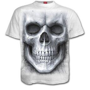Tričko Bílá lebka