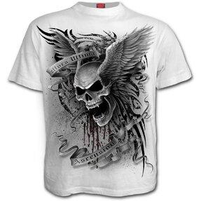 T-Shirt Weiße Flügel