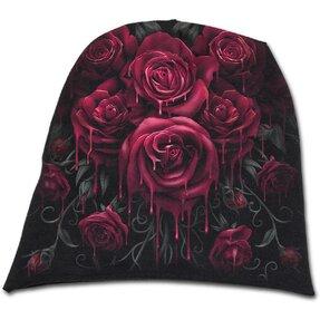 Beanie sapka Véres rózsák