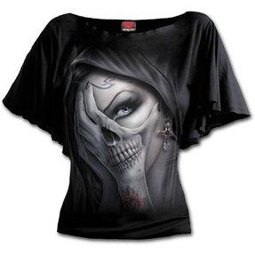 Női fodros póló A félelem karjai