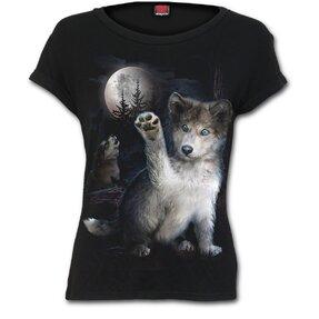 Ladies' T-shirt Wolf Puppy