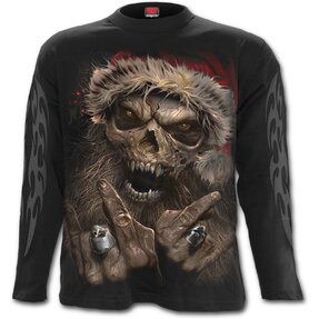 Long Sleeve Santa Grim Reaper