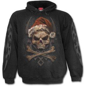 Sweatshirt mit Kapuze Santa Totengerippe