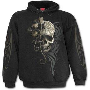 Sweatshirt mit Kapuze Schwarzer Engel