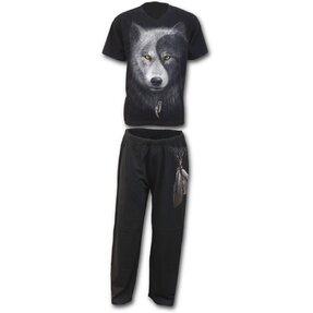 Pyjama Wolf Gesicht