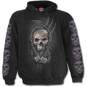Sweatshirt mit Kapuze Chef von Totengerippen
