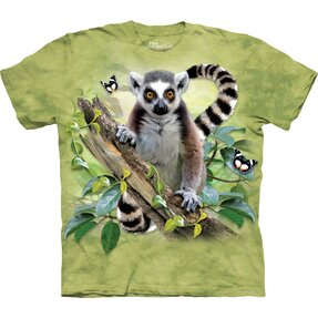 T-shirt Curious Lemur Child