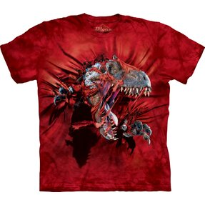 T-shirt Angry Dinosaur Child