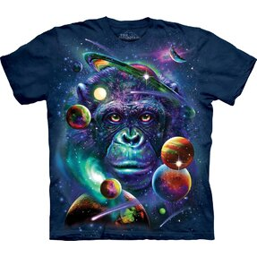 T-shirt Monkey in Universe Child