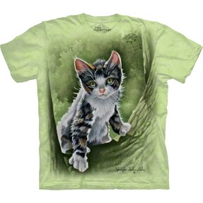 T-shirt Kitty on Tree Child