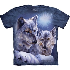 Kinder T-Shirt Wolfspartner