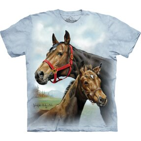 T-shirt Pair of Horses Child