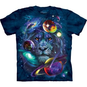 T-shirt Lion in Universe Child