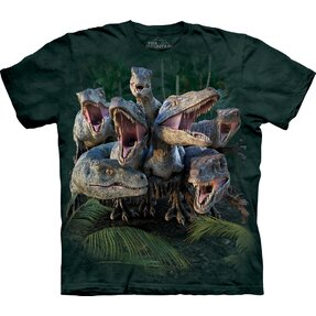 T-shirt Furious Dinosaurs Child