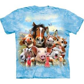 Tričko Bláznivá farma - dětské