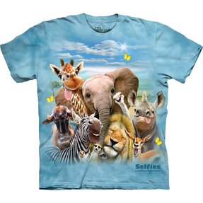 Tričko Zamilovaná zvířátka - dětské