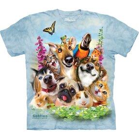 Tričko Veselé tvářičky - dětské