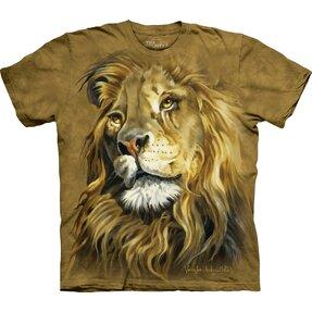 Tričko Profil lva - dětské