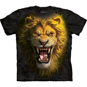 T-shirt Fiery Lion Child
