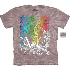 Mandala Colouring T-shirt Love