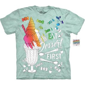 Mandala Colouring T-shirt Ice Cream