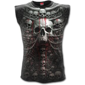 Men's Tank Top with Design Skull Collection