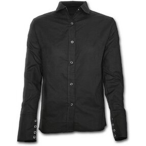 Ladies' Black Shirt with Long Sleeve