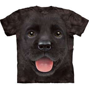 Kids' T-shirt Black Labrador Puppy