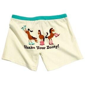 Női pizsama rövidnadrág Ló csizmában
