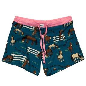 Női pizsama rövidnadrág Álmos ló