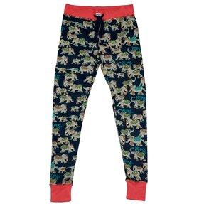 Női pizsama leggings Indiai elefántok