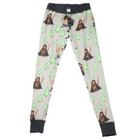 Női pizsama leggings Az erdő legyen veled