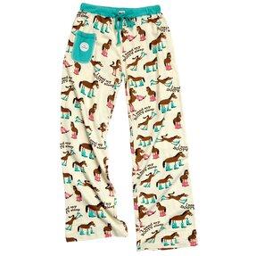 Dámske pyžamové nohavice Kôň v čižmách