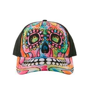 Baseball Cap Russo Skull