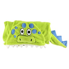 Kids' Hooded Blanket Dinosaur