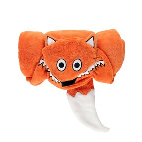 Kids' Hooded Blanket Fox