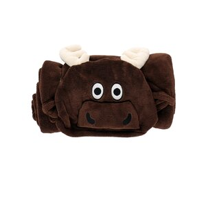 Kids' Hooded Blanket Elk